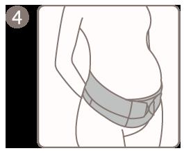 Ergonomic Maternity Support Belt
